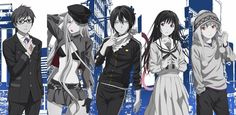 Noragami :) official art