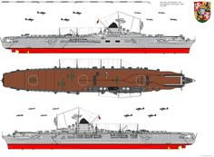German carrier Graf Zeppelin {Never completed}