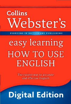 Free ebooks download : Collins Webster's How to Use English