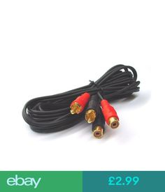 Imbaprice rca mmx3 audiovideo cable gold plated audio video rca audio video cables ebay computerstablets networking greentooth Choice Image