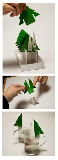 Smart tea packaging
