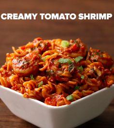 Creamy Tomato Shrimp
