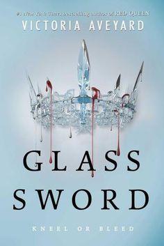 """Finalmente è stata rivelata la cover di """"Glass Sword"""", il secondo romanzo di Victoria Aveyard, seguito di Red Queen! Non bellissima?? *_*"""