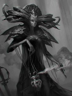 priestess, Valeria Styajkina on ArtStation at https://www.artstation.com/artwork/lN0wa