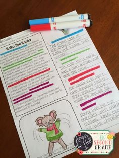 Across the Hall in Bundled Comprehension: Win It! 2nd Grade Ela, Third Grade Reading, 2nd Grade Classroom, 2nd Grade Homework, Second Grade, 2nd Grade Reading Comprehension, Classroom Ideas, Comprehension Strategies, Reading Strategies