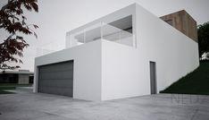 Moderný dom MOR Box Houses, Garage Doors, Container, Construction, House Design, Outdoor Decor, Pictures, Inspiration, Home Decor