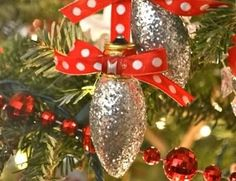 DIY Christmas Ornaments Made From Light Bulbs - 4 UR Break- provides some information about interesting trends.