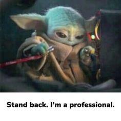 Yoda Meme, Yoda Funny, Star Wars Jokes, Star Wars Pictures, Star Wars Baby, Memes, Star Wars Poster, Clone Wars, Funny Images