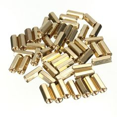 New Best Promotion 50pcs/lot M3 12mm Hexagonal Net Nut Female Brass Standoff/Spacer Long Lasting High Quality #CLICK! #clothing, #shoes, #jewelry, #women, #men, #hats, #watches