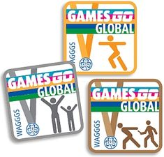 Games Go Global - WAGGGS patch for the Olympics. Can't wait to do this with our troop this summer!