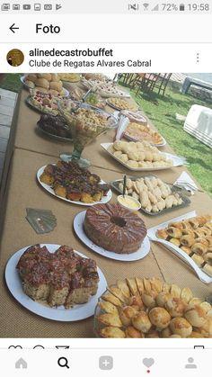 Chá da tarde High Tea Wedding, Brunch Wedding, Party Buffet, Sweet 16 Birthday, Coffee Break, Catering Display, Food And Drink, Breakfast, Desserts