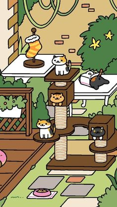 When your one friend clearly only came to hang out for the snacks. | 12 Moments Only Neko Atsume Fans Will Understand