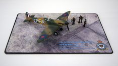 Supermarine Spitfire Mk.1a, P9953, ZP-A, No. 74 Squadron, Sq.-Ldr. D.F. Sailor Malan, RAF Battle of Britain, summer 1940 Supermarine Spitfire, Battle Of Britain, Ldr, Scale Models, Diorama, Sailor, Creative, Summer, Locomotive