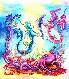 Octopus's Garden by =TrollGirl on deviantART
