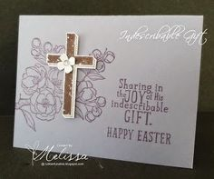 Stampin' Up! Indescribable Gift by Melissa Davies @rubberfunatics @stampinup #rubberfunatics #stampinup