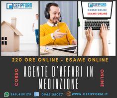 Corso di Agente Immobiliare Online Qualifica per Agente D'affari in mediazione Immobiliare Valida e Riconosciuta in Tutta Italia ed in Europa E Learning, Broadway, Europe, Italy