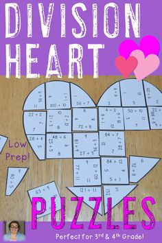 valentine heart fractions