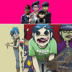 """Abducted by Gorillaz's """"Andromeda"""""""