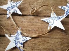 star paper garland