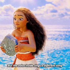 What is wrong with me? See the light as it shines on the sea it's blinding... // Moana
