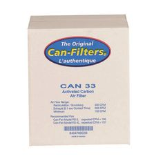 Can Fan 33 Without Flange Carbon Filter with Prefilter
