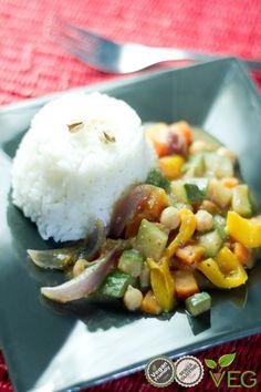 Curry vegano ai ceci - le ricette di lacucinavegetariana.it