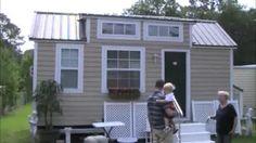 tiny house on wheels with no loft - YouTube