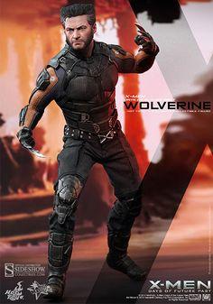 Hot Toys X-Men Days of Future Past Wolverine ( Hugh Jackman ) Collectible Figurine Hot Toys Hot Toys Wolverine, The New Wolverine, Marvel Wolverine, Marvel Vs, Marvel Dc Comics, Marvel Heroes, Batgirl, Gi Joe, Comics