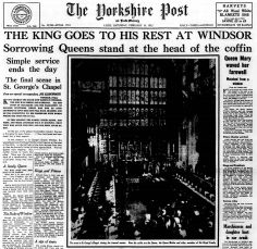 16th February 1952 - Funeral of King George VI