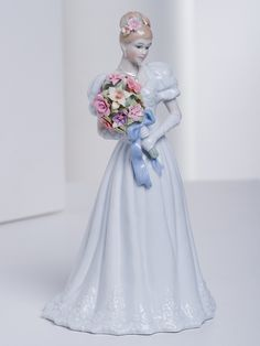 Figurine of Lady with Bouquet