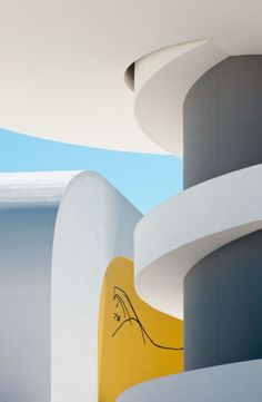 Niemeyer CentreOscar Niemeyer #architecture #contemporary