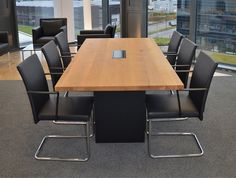 Besprechungstisch Chefbüro by kühnle'waiko #conference #office #workspace #interior #design #table #seating