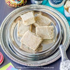 Herbivore Cucina: Gudpapdi or Sukhdi is a traditional Indian sweet that needs just 3 ingredients and 15 minutes!