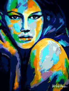 "Saatchi Art Artist Helena Wierzbicki; Painting, """"Endless wondering"""" #art"