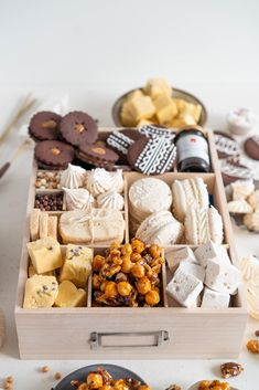 The Ultimate Vanilla Bean Christmas Treat Box — Cloudy Kitchen Christmas Food Treats, Christmas Sweets, Christmas Cookie Boxes, Xmas, Holiday Baking, Christmas Baking, Cookie Gifts, Holiday Cookies, Sweet Recipes