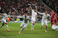 0-4: El Madrid, a la final arrollando al Bayern