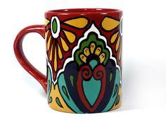 Talavera Style Mug