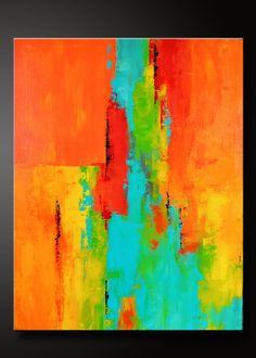 Arte de pared contemporáneo de tango 22 x 28 acrílico