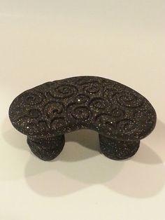Black Twinkle Bench
