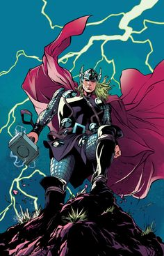 The Unworthy Thor #3 - Emanuela Lupacchino, Colors: Rico Renzi