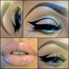 Eyeliner, so pretty!