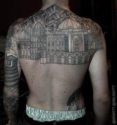 Back tattoo for man - 100 Awesome Back Tattoo Ideas