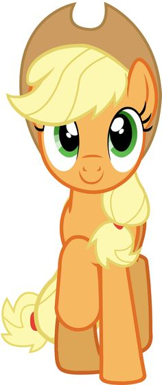 "Applejack Vector - Smile Parade with the Mane 6 from ""A Friend in Deed"""