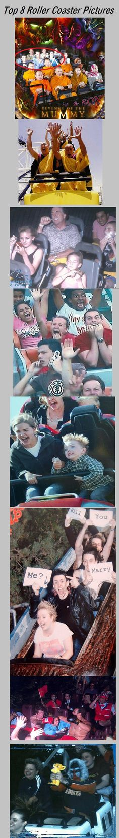 Creative roller coaster pictures…