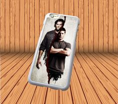 Supernatural Dean And Sam Winches for iPhone 5/5S/SE Hard Case Back Cover #designyourcasebyme