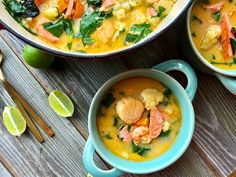 while the temperatures are dropping to single digits, I created this fabulous warming Thai Seafood Vegetable Stew.  It goes perfectly well on a cold winter night with a salad and crusty bread for the bread eaters in your clan.