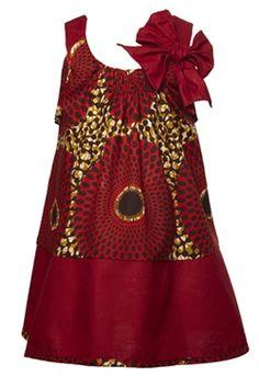 Lulu dress- Isossy Children I LOVE this dress! African Dresses For Kids, African Children, African Print Dresses, African Fashion Dresses, African Women, Ghanaian Fashion, African Prints, African Inspired Fashion, African Print Fashion