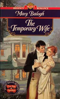 Allan Kass Book Covers: Mary Balogh: The Temporary Wife