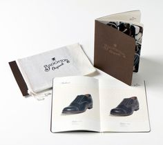 Manly packaging and cool shoes.