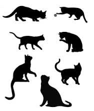 cat silhouette tattoo foot - Google Search